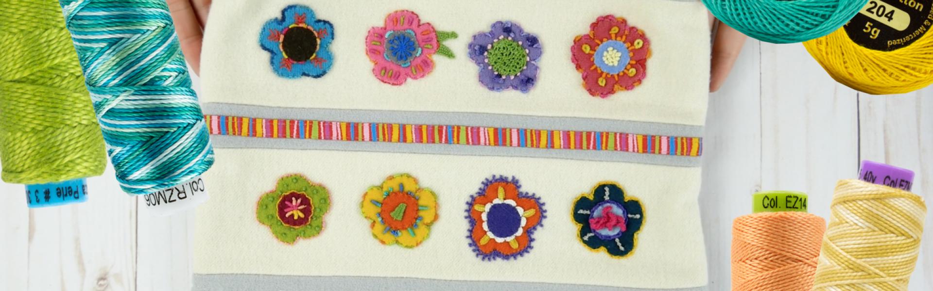 Choosing the Best Hand Embroidery Thread   WonderFil Australia